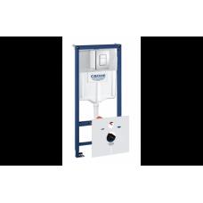 Cистема инсталляции для подвесных унитазов RAPID SL 4 в 1 38775001