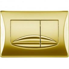 Кнопка смыва OLI River Dual золото 638508