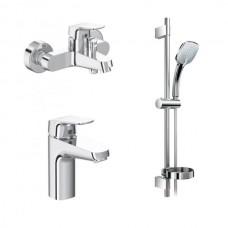 Комплект смесителей Ideal Standard Ceraflex B2189AA для ванны и раковины