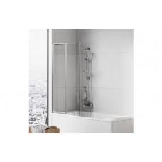 Складная стеклянная шторка для ванны New Trendy Trex P-0152