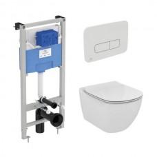 Комплект инсталляции и унитаза Ideal Standard Tesi AquaBlade S0079R0123AA