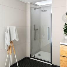 Exclusive Line дверь распашная ECDO1N/90, хром/прозрачный