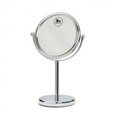 космет. зеркало настольное, zoom, D=120 мм, хром