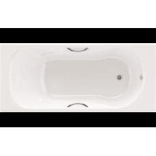 Чугунная ванна ASIA 150*75 (с отверстиями для ручек)